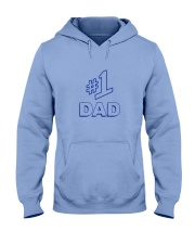 Number 1 Dad Shirt Hooded Sweatshirt thumbnail