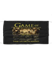 GAME-ofthrones Cloth face mask thumbnail