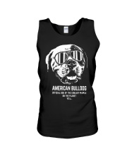 American Bulldog Official Dog of the Cooles Unisex Tank thumbnail