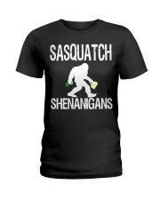SASQUATCH SHENANIGANS Ladies T-Shirt thumbnail
