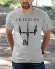 Life Behind Bars Classic T-Shirt apparel-classic-tshirt-lifestyle-front-50