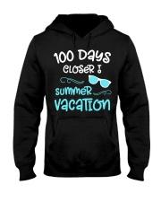 100 Days of School Closer Summer Teacher Stu Hooded Sweatshirt thumbnail