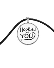 Hooked on you Cord Circle Necklace thumbnail