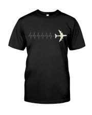 Pilot's Heartbeat Classic T-Shirt front