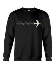 Pilot's Heartbeat Crewneck Sweatshirt thumbnail