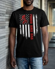Proud BMX Dad Classic T-Shirt apparel-classic-tshirt-lifestyle-front-40