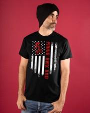 Proud BMX Dad Classic T-Shirt apparel-classic-tshirt-lifestyle-front-89