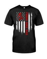 Proud BMX Dad Classic T-Shirt front