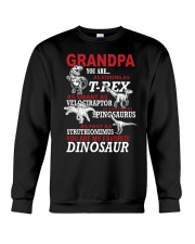 Daddy You Are My Favorite Dinosaur Crewneck Sweatshirt thumbnail