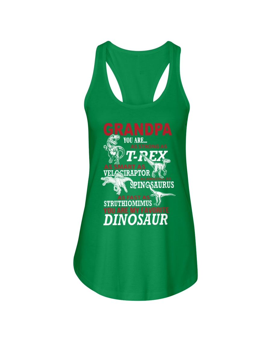 Daddy You Are My Favorite Dinosaur Ladies Flowy Tank