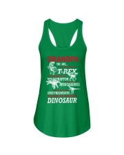 Daddy You Are My Favorite Dinosaur Ladies Flowy Tank front