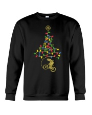 Bicycle Christmas Tree v2 Crewneck Sweatshirt front