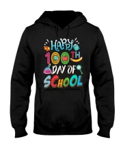 100 Days Of School Teachers And Students Boo Hooded Sweatshirt thumbnail