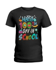 100 Days Of School Teachers And Students Boo Ladies T-Shirt thumbnail
