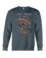 Still Ride A Motorcycle Crewneck Sweatshirt thumbnail