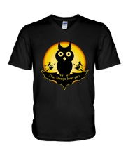 Owl always love you V-Neck T-Shirt thumbnail