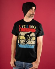 Cycling Daddy Classic T-Shirt apparel-classic-tshirt-lifestyle-front-89