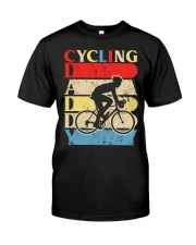 Cycling Daddy Classic T-Shirt front