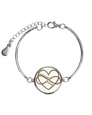 Available for a short time only Metallic Circle Bracelet thumbnail