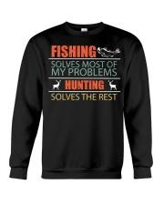 Angler Fish Fishing and Hunting Family Campi Crewneck Sweatshirt thumbnail
