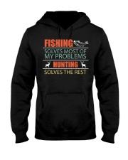 Angler Fish Fishing and Hunting Family Campi Hooded Sweatshirt thumbnail