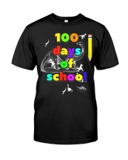 100 days of school for kids and teachers - d Classic T-Shirt front