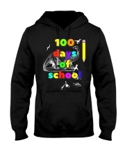 100 days of school for kids and teachers - d Hooded Sweatshirt thumbnail