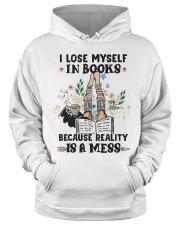 I lose myself in books Hooded Sweatshirt apparel-hooded-sweatshirt-lifestyle-front-34