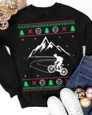 Xmas - MTB v1 Crewneck Sweatshirt apparel-crewneck-sweatshirt-lifestyle-front-25