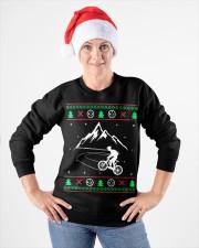 Xmas - MTB v1 Crewneck Sweatshirt apparel-crewneck-sweatshirt-lifestyle-front-26