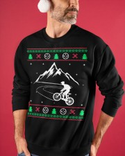 Xmas - MTB v1 Crewneck Sweatshirt apparel-crewneck-sweatshirt-lifestyle-front-32