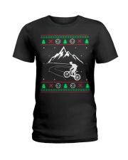Xmas - MTB v1 Ladies T-Shirt thumbnail