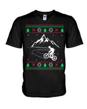 Xmas - MTB v1 V-Neck T-Shirt thumbnail
