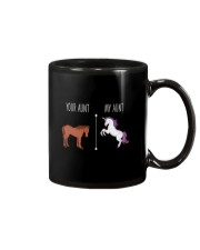 Your Aunt My Aunt Horse Unicorn Mug tile