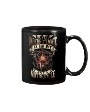 Never Underestimate An Old Man With A Motorcycle Mug thumbnail