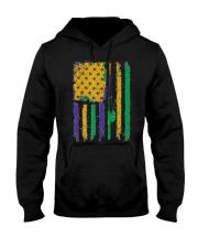 American Flag Mardi Gras T-shirt Mardi Gras  Hooded Sweatshirt thumbnail