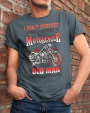 Still Ride A Motorcycle Classic T-Shirt apparel-classic-tshirt-lifestyle-26