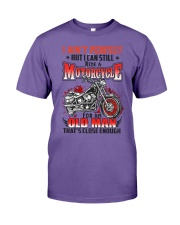 Still Ride A Motorcycle Premium Fit Mens Tee thumbnail