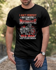 Still Ride A Motorcycle Classic T-Shirt apparel-classic-tshirt-lifestyle-front-53