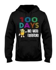 100 Days in the Books - English teacher book Hooded Sweatshirt thumbnail
