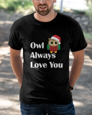 Owl always love you Classic T-Shirt apparel-classic-tshirt-lifestyle-front-50