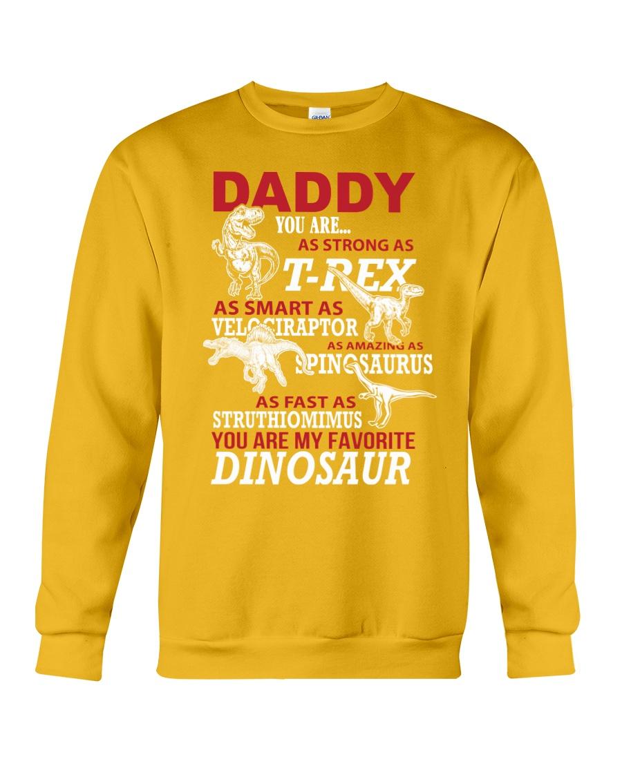 Daddy You Are My Favorite Dinosaur Crewneck Sweatshirt