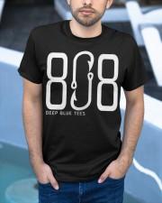808 Fishing Hook Hawaii T-Shirt Classic T-Shirt apparel-classic-tshirt-lifestyle-front-45