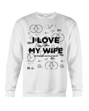 I Love My Wife v2 Crewneck Sweatshirt thumbnail