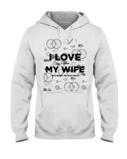 I Love My Wife v2 Hooded Sweatshirt thumbnail