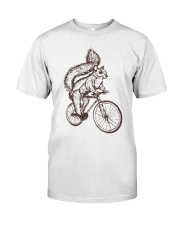 Squirrel Biking Classic T-Shirt front