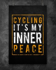Cycling It's My Inner Peace 11x17 Poster aos-poster-portrait-11x17-lifestyle-12