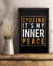 Cycling It's My Inner Peace 11x17 Poster lifestyle-poster-3