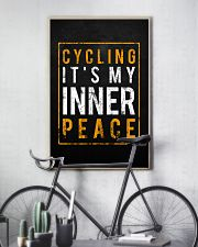Cycling It's My Inner Peace 11x17 Poster lifestyle-poster-7