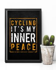 Cycling It's My Inner Peace 11x17 Poster lifestyle-poster-8